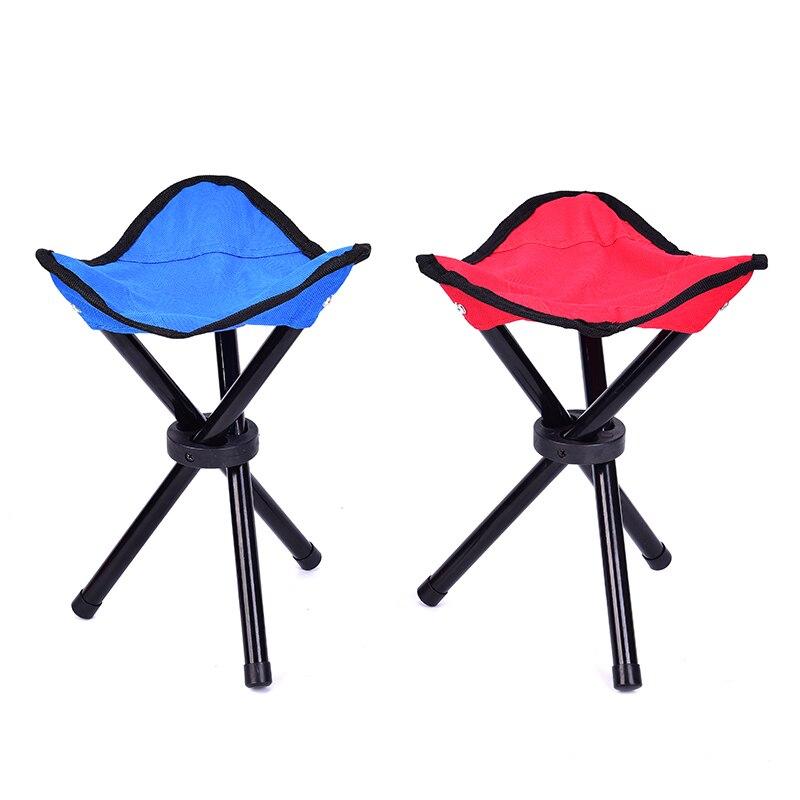 Pop up cadeira portátil leve dobrável acampamento caminhadas fezes dobrável tripé cadeira assento para pesca festival piquenique churrasco praia