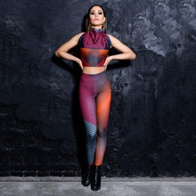 Fitness leggings colorfully