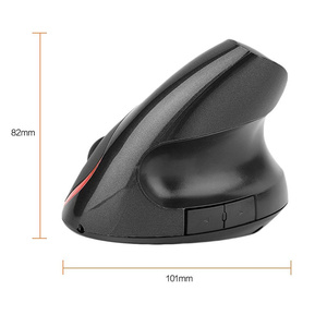 Image 3 - HXSJ A889 2400DPI Wireless Ergonomic Design Optical Vertical Mouse with 4 Buttons 1 Wheel Gaming Mouse