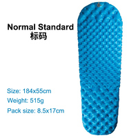 See To Summit Mummy Comfort Light Body Double Layer Single Thermal Resistance Waterproof Cushion Sleeping Mat Air Bed