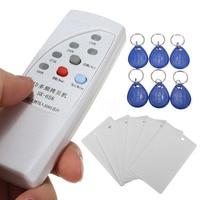 13 Pcs 125KHz RFID ID Card Reader Writer Copier Duplicator 6 Cards 6 Tags LCC77