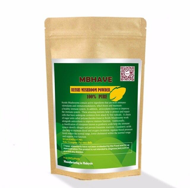 Reishi Mushroom Powder 8oz  - 100% Pure Premium Quality