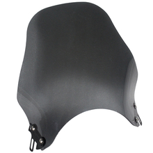 Motorcycle Round Headlight Windshield Windscreen For Honda Kawasaki Yamaha Suzuki Street Bikes Wind Screen Glass