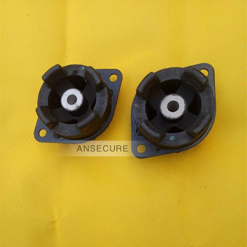 Par de arbusto de goma de transmisión de montaje de motor para Audi 80 90 100 200 Coupe Quattro 431399151D