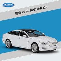 WELLY 1:24 Diecast Scale Simulation Model Car JAGUAR XJ Metal Toy Car Alloy JAGUAR Classic Car Kids Toys Gift Cars Collection