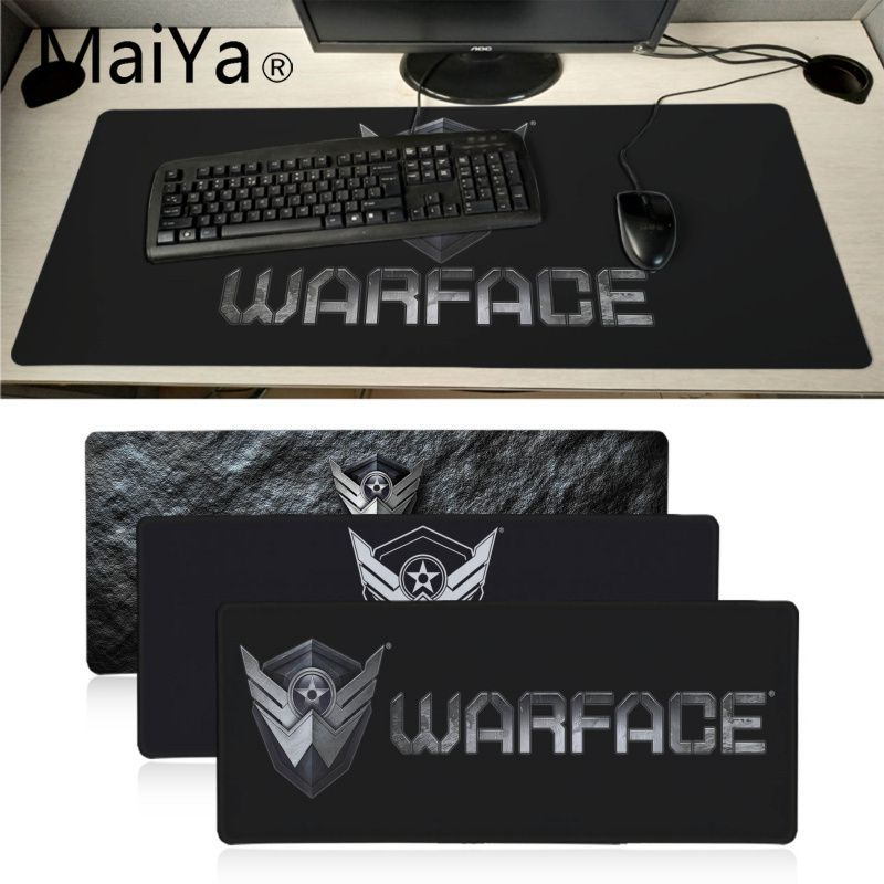 Maiyaca Warface Rubber Mouse Durable Desktop Mousepad 700*300mm Gaming Mouse Pad Speed Keyboard Mouse Mat Laptop PC Desk Pad