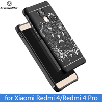 Luxury Soft Silicon TPU For Xiomi Xiaomi Redmi 4 Pro Case Full Protective Shockproof Phone Funda