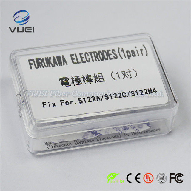 Furukawa Fitel Electrodes for S122A S122C S122M4 Optical Fiber Fusion Splicer Electrodes Rod 1 Pair