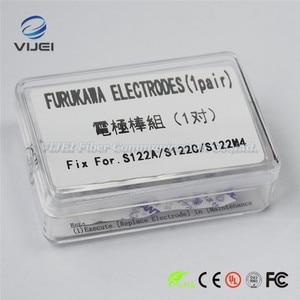 Image 1 - Furukawa Fitel elektrotlar S122A S122C S122M4 optik Fiber füzyon Splicer elektrotlar çubuk 1 çift