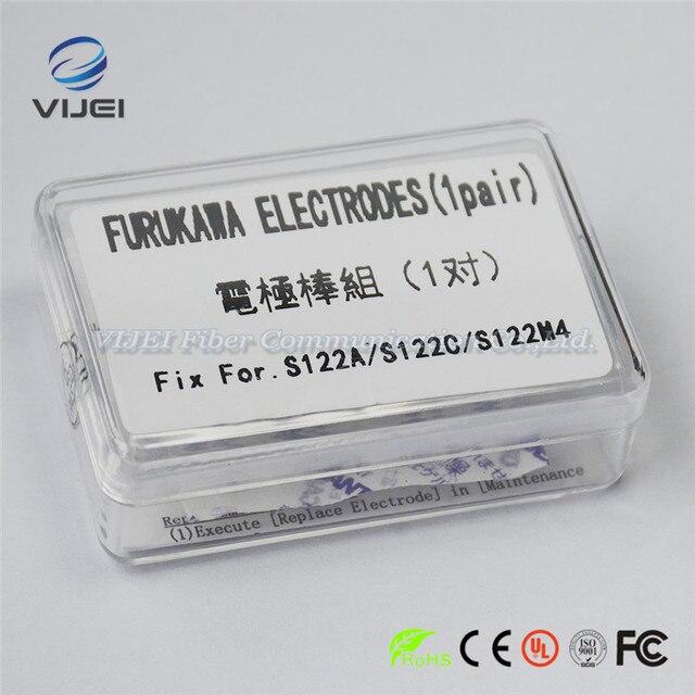 Furukawa Fitel elektrotlar S122A S122C S122M4 optik Fiber füzyon Splicer elektrotlar çubuk 1 çift