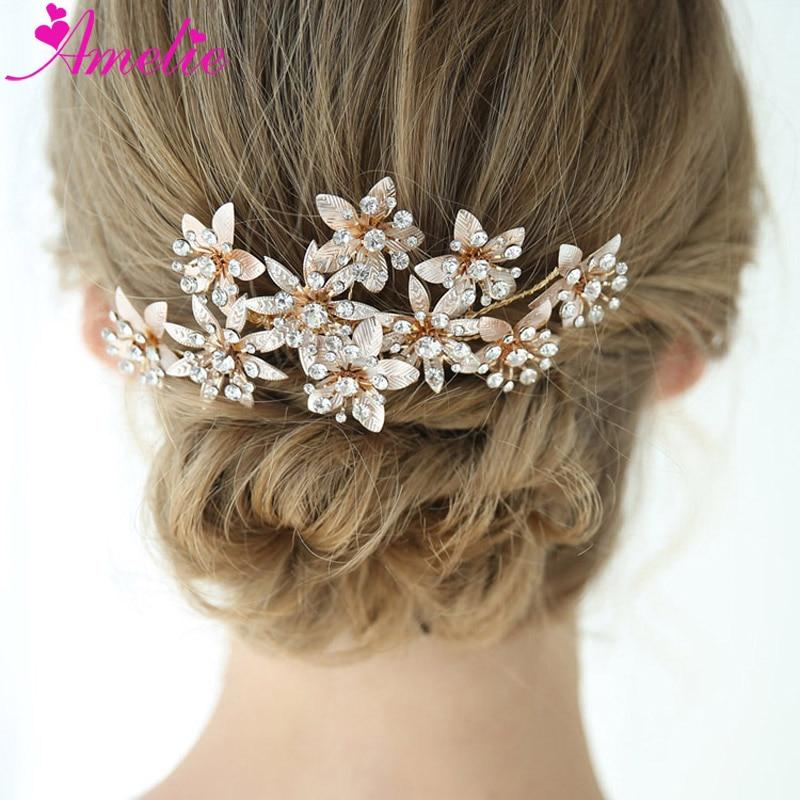 "USA Seller Vintage Inspired Silver Rhinestone Bridal Wedding Hair Comb 3/"" X 2/"""