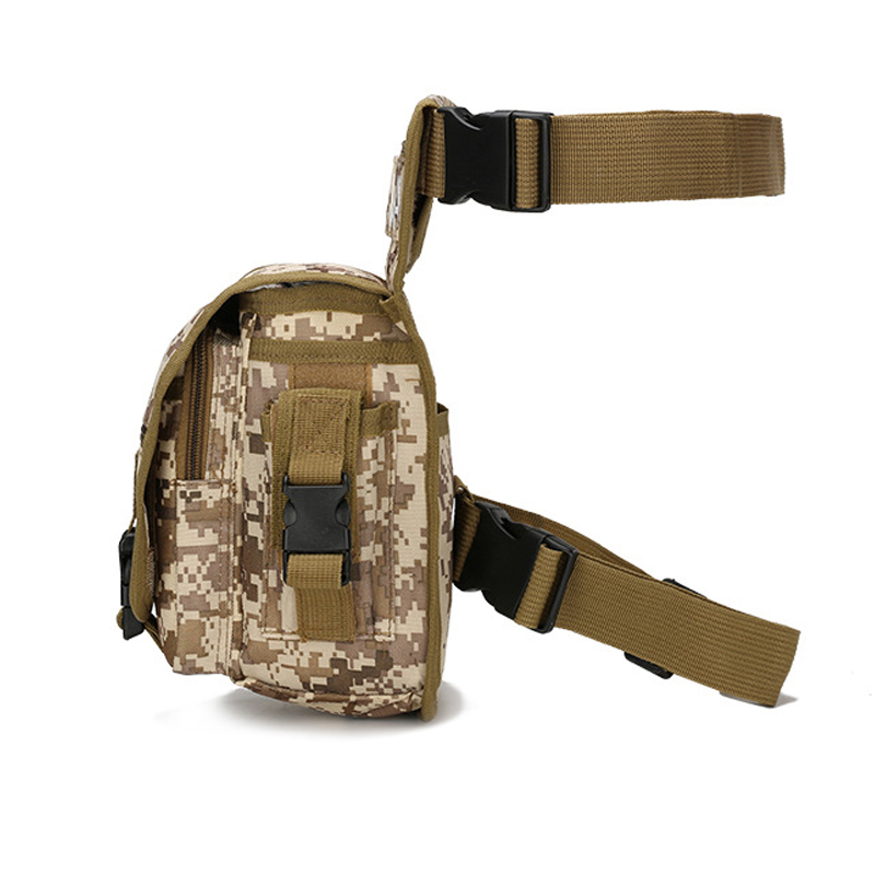 Military Waist Fanny Pack Weapons Tactics Ride Leg Bag For Men Waterproof Drop Utility Thigh Pouch Multi Purpose Hip Belt YB25
