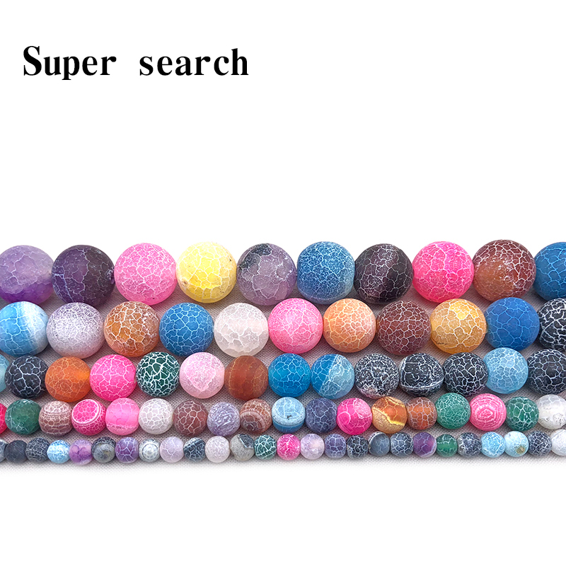 Wholesale Natural Old Colorful Agates Stone Beads For Jewelry Making Diy Bracelet Woman Necklace 4/6/8/10/12 Mm Strand 15 Famous For Selected Materials Delightful Colors And Exquisite Workmanship Novel Designs