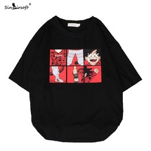 7 Color Mens Cotton Cartoon Pattern Printing T Shirt Casual Loose Half Sleeve Round Neck White Tees Male Summer Fashion Tops