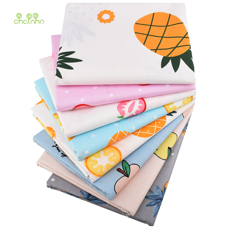 Apparel Sewing & Fabric Arts,crafts & Sewing Official Website Chainho,new Fruit Pattern Series,printed Twill Cotton Fabric,for Diy Quilting Sewing Baby&childrens Sheet,pillow,material,cc296 Exquisite Traditional Embroidery Art