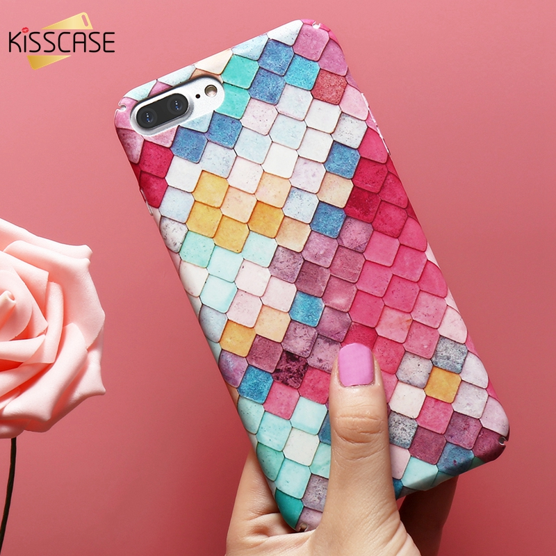 Aliexpress.com : Buy KISSCASE Colorful 3D Hard Phone Cases For iPhone X XS XR XS Max Girl
