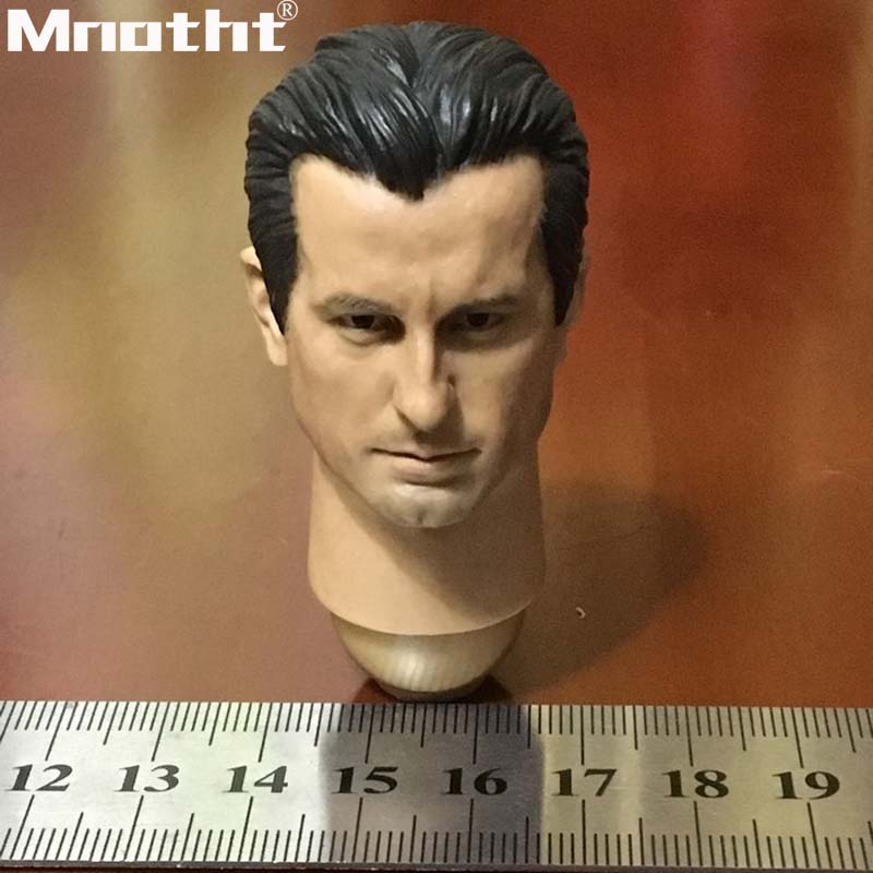 16 Scale Andy Garcia Head Sculpt HP-0026 Long Neck Short Neck Head Carvings Model toys m5 Collection DIY Hobbies Accessories