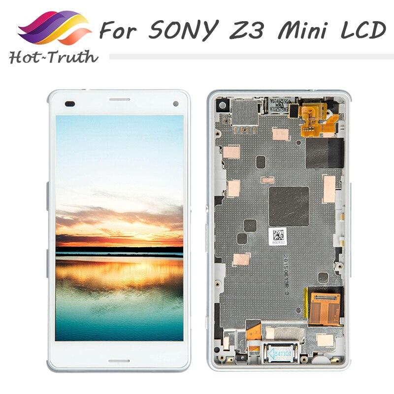 1 pcs LCD Pantalla Ecran Écran Pour Sony Xperia Z3 Compact LCD Affichage D5803 D5833 Pour Sony Xperia Z3 C mini Écran Livraison Gratuite