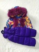 2018 зимняя куртка с мехом енота, Детская парка, детские пуховики, верхняя одежда для катания на лыжах, Детский пуховик для мальчиков и девочек