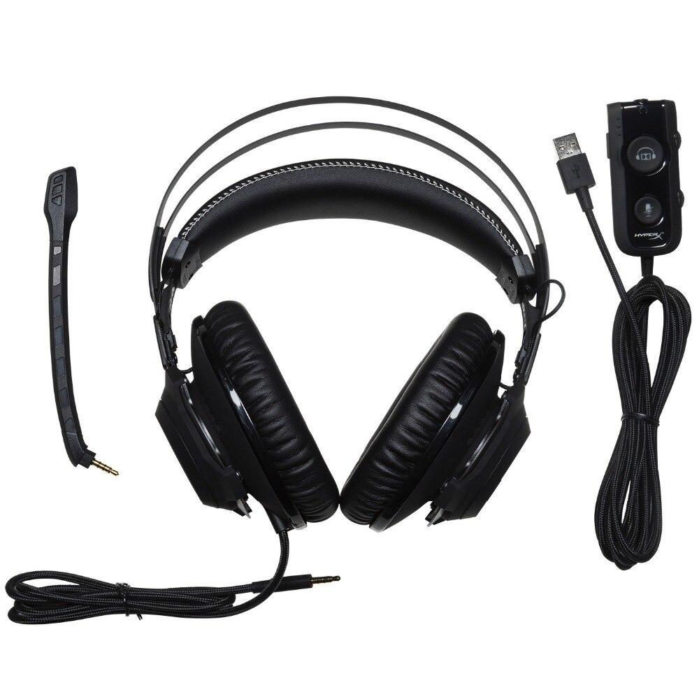 Kingston HyperX หูฟัง Cloud Revolver S ชุดหูฟังสำหรับเล่นเกม Dolby 7.1 Surround สำหรับ PC,PS4, PS4 PRO,Xbox One,-ใน หูฟัง/ชุดหูฟัง จาก อุปกรณ์อิเล็กทรอนิกส์ บน AliExpress - 11.11_สิบเอ็ด สิบเอ็ดวันคนโสด 3