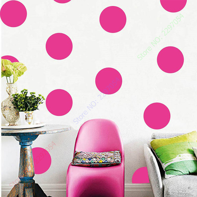 Polka Dots Wall Sticker Baby Nursery Stickers Kids Polka Dots ...