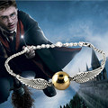 Hot Selling Bird Round Bracelet Film And The Golden Snitch Wings Bracelets For Women
