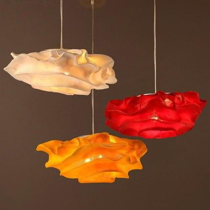 Креативная розовая Подвесная лампа, современные светодиодные подвесные светильники, индивидуальное милое освещение в стиле арт деко, кофе