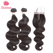Beau Hair Malaysia Body Wave Human Hair 2 Bundles With Closure Deals 4×4 Lace With Bundles Non Remy Malaysia Hair Weaving Bundle