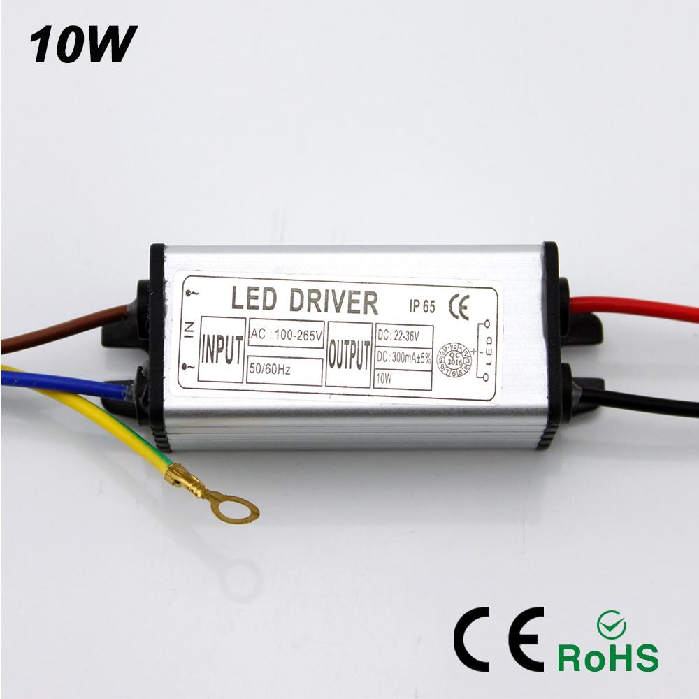 buy ynl led driver adapter transformer 10w 100v 265v ac to 22 36v dc 300ma. Black Bedroom Furniture Sets. Home Design Ideas