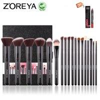 ZOREYA 18PCS Makeup Brushes Professional Make Up Brushes Kits Cosmetic Brush Set Powder Blush Foundation Eyebrow
