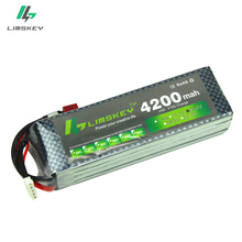Limskey Power Lipo Battery 14.8V 4200mAh 30C MAX 40C T Plug