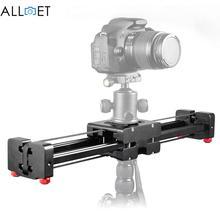 Negro DSLR Cámara De Vídeo Deslizante Rail Dolly 50 cm Pista Estabilizador 100 cm Distancia de Deslizamiento para Canon Nikon Sony Estabilizadores