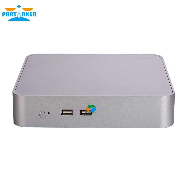 Partaker B17 sin ventilador Mini PC intel i5 6300HQ Quad Core Max 32G DDR4 RAM Windows 10 Mini computadora