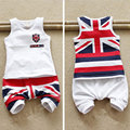 Retail 2016 summer baby boy clothing set newborn infant  meninos conjuntos original clothes sets sport suit for baby boys