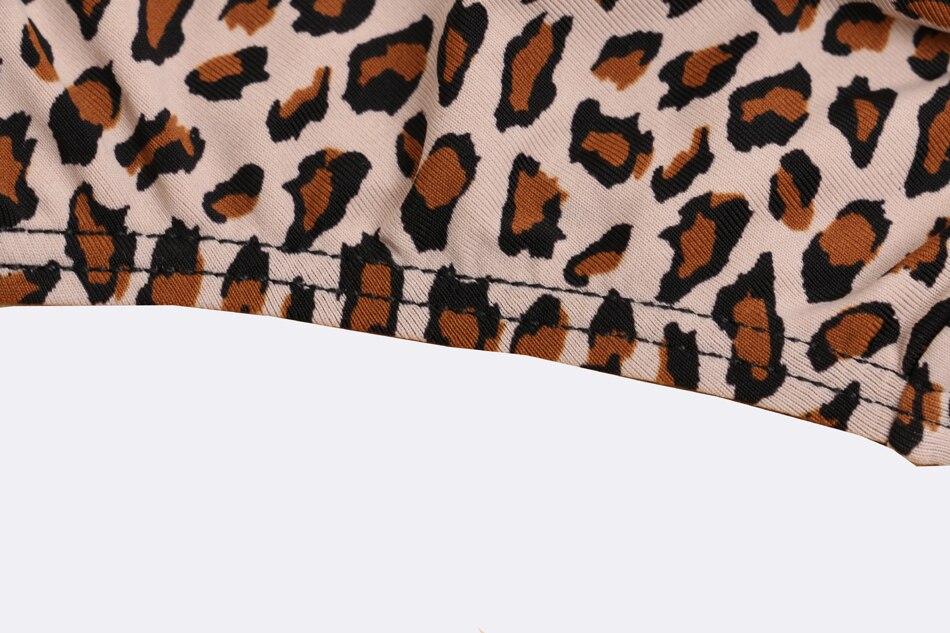 Artdewred γυναικείο σετ εσωρούχων λεοπαρ σε μεγάλα νούμερα msow