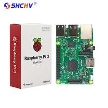 Оригинальный Raspberry Pi 3 Модель B доска 1 ГБ LPDDR2 BCM2837 quad-core RAS PI3 B, PI 3B, PI 3 B с Wi-Fi и Bluetooth элемент 14 Версия