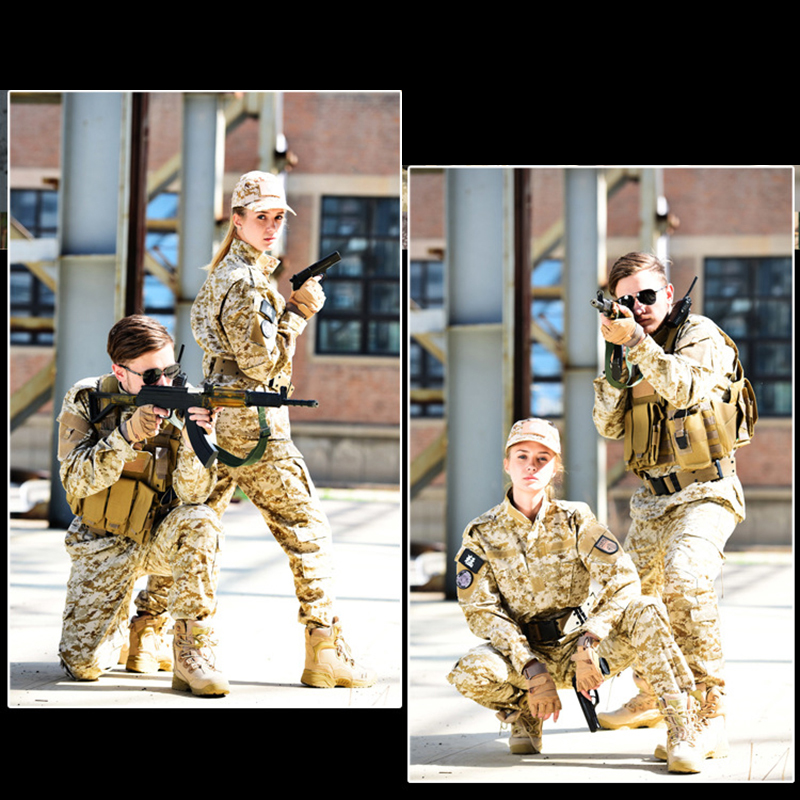 SJ Maurie 12 Colors Outdoor Hunting Ghillie Suits Camouflage Uniform CS Field Training Suit Roupa Camuflada