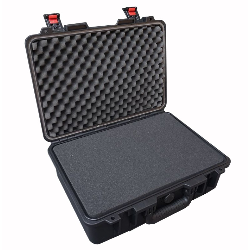 460x345x175mm Plastic Toolbox Moisture-proof Shockproof Waterproof Instrument Box Safety Case Equipment Case With Pre-cut Foam