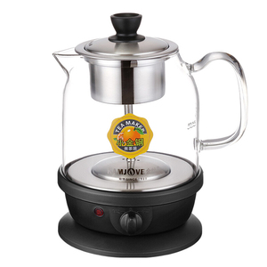 Image 5 - 自動インテリジェント調理器ガラス沸騰茶陶器電気ポットガラスティーポット