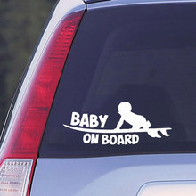 Car Sticker Creative Window Tuning Baby on Board Automobiles Vinyl Prod