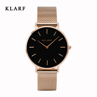 KLARF Women Watches Women Top Famous Brand Luxury Casual Quartz Watch Female Ladies Watches Women Wristwatches