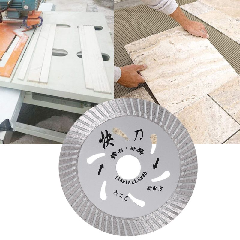 105mm 4inch Ultrathin Diamond Turbo Circular Saw Blade Ceramic Tile Granite Cutter Disc Cutting Tool