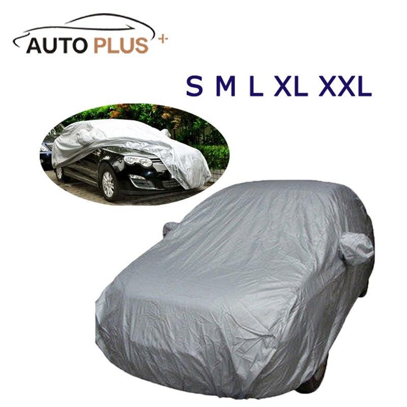 Volle Auto Abdeckung Indoor Outdoor Sonnencreme Wärme Schutz Staubdicht Anti-Uv Scratch-Beständig Limousine Universal Anzug