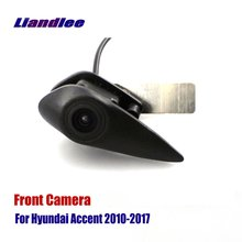 Liandlee For Hyundai Accent 2010-2017 2015 AUTO CAM  Car Front View Logo Embedded Camera ( Not Reverse Rear Parking )