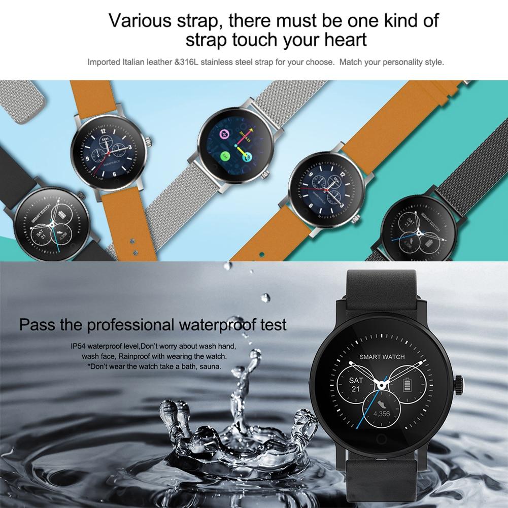 Montre intelligente Smartwatch Pour Android/IOS