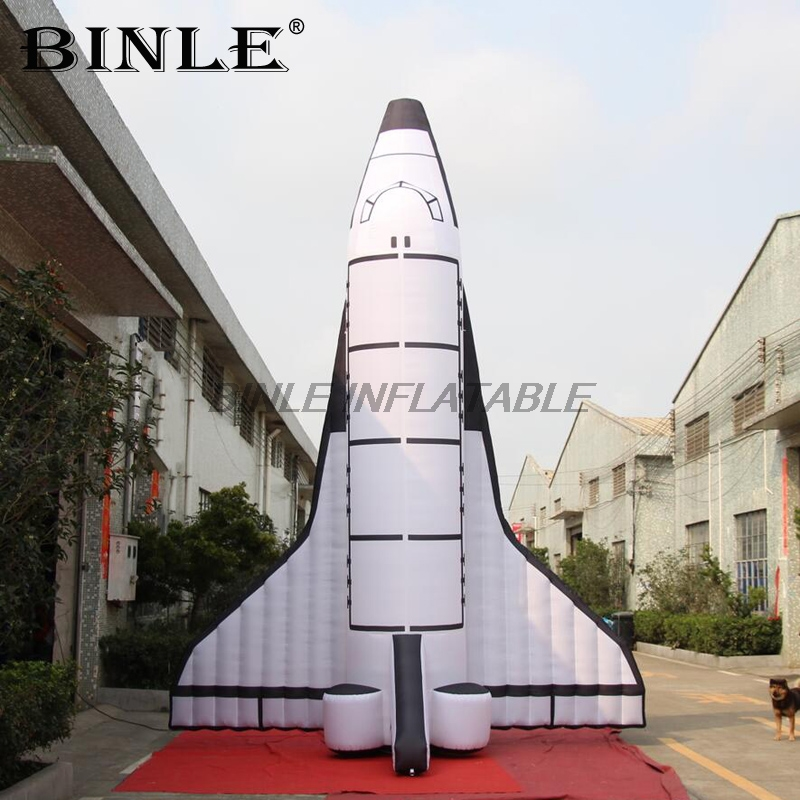 High quality 5m 16ft giant inflatable space shuttle with logo inflatable spaceship model for eventHigh quality 5m 16ft giant inflatable space shuttle with logo inflatable spaceship model for event