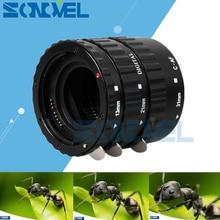 Black Metal Mount автоматической фокусировки AF Макрос Удлинитель/кольцо для Kenko Canon EF-S объектив 1300D 800D 760D 750D 700D 200D 77D 5Ds 7D 6D