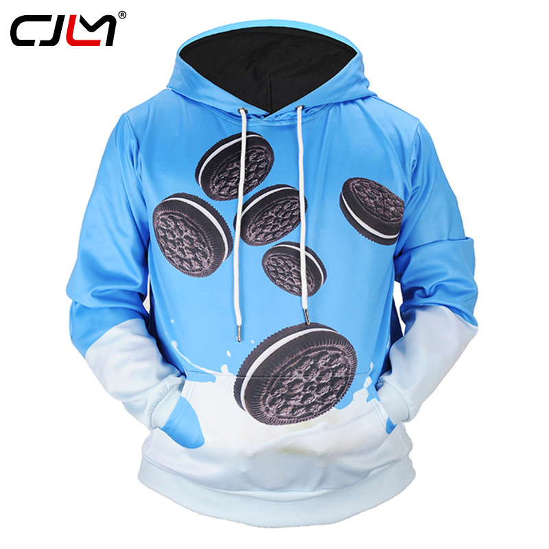 Buy CJLM Hoodies Girl 3d Printed Biscuit and Milk Funny Design Hooded Sweatshirts Casual Crewneck Coat Outwears Hoodie For Women for $25.85 in AliExpress store