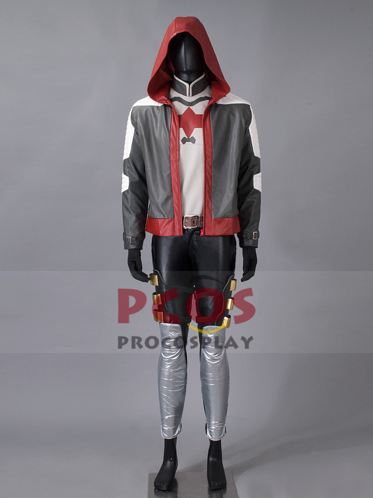 Batman: Arkham Knight Red Hood Jason Todd Cosplay Costume mp003300