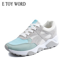 E TOY WORD 2019 Spring womens sneakers Mesh Womens Casual Shoes Outdoor Gym Breathable Vulcanized basket femme